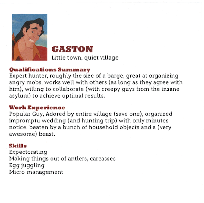 Audition resume awesome disney example examples of resumes sample.