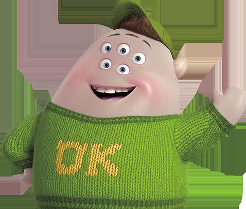 charactersfgsquishy.png (506×429) Disney pixar, Pixar