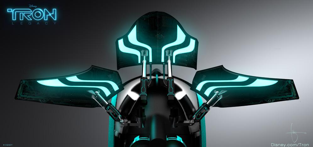 Tron Legacy Light Cycle Blueprint